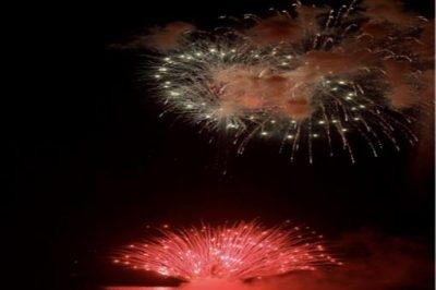 2018 Waikiki New Year's Fireworks - 와이키키 새해 불꽃축제